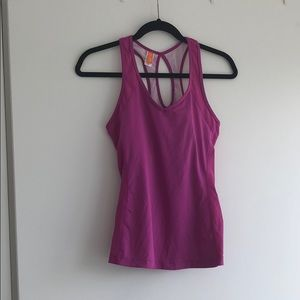 Pink Lucy workout top v neck